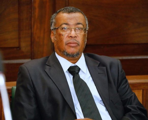 Former Kenya Football Chairperson Mohammed Hatimy passes on
