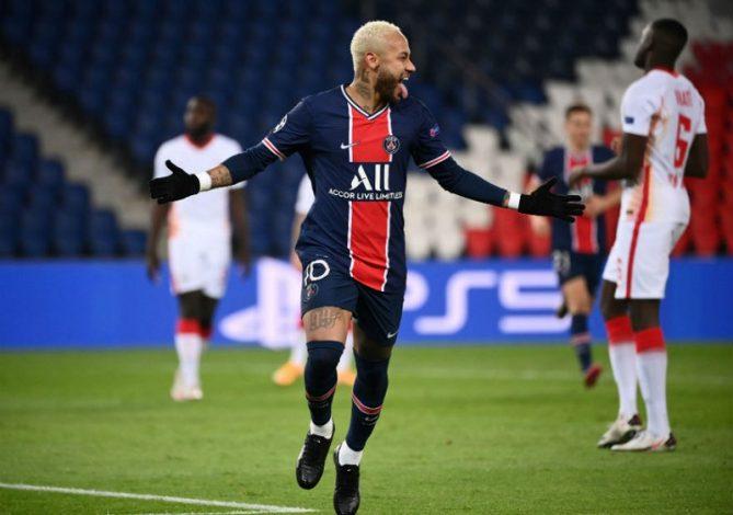 Neymar scores only goal as PSG beat RB Leipzig 1-0