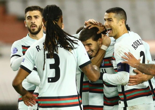 Portugal score last minute winner to beat Croatia 3-2 in UEFA Nations League