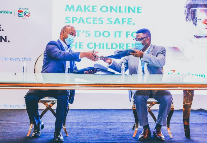 UNICEF Kenya, Safaricom Sign 2 Year Pact on Protection of Children Online