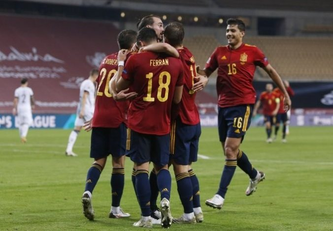Spain hit six goals past Germany to book spot in UEFA Nations League
