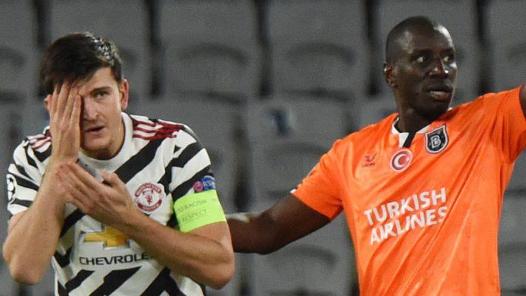 Istanbul Basaksehir beat Manchester United 2-1 as former Chelsea striker Demba Ba scores