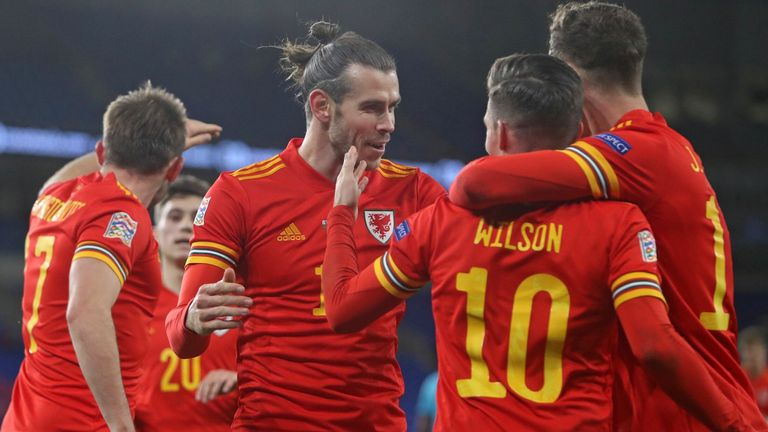 Wales beat Finland 3-1 to finish top of their group in the Nations League