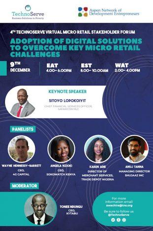 4th Virtual Micro Retail Stakeholder Forum