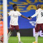 Premier League: Arsenal down Brighton as Leeds put five goals past West Brom