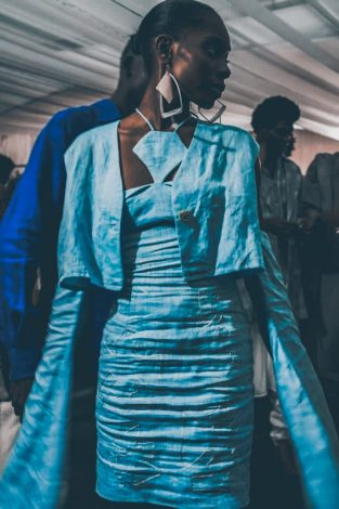 Kenya's Iona McCreath Launch Eripoto Collection at Arise Fashion Week