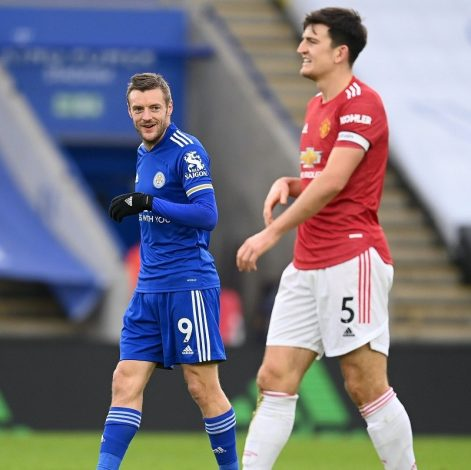 Leicester strike late to grab 2-2 draw against Manchester United