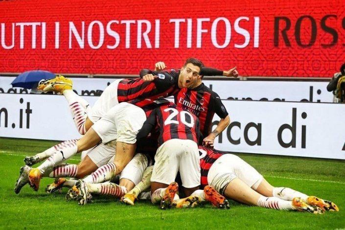 AC Milan beat Lazio 3-2 at San Siro to return top of the table