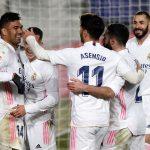 La Liga: Real Madrid beat Granada 2-0