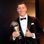Robert Lewandoski wins the Best FIFA Men's Player Award