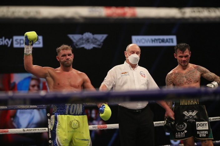 Billy Joe Saunders beats Martin Murray via unanimous decision