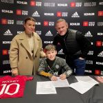 Premier League: Wayne Rooney's son, Kai, signs for Manchester United