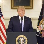 President Donald Trump pledges orderly transition of power