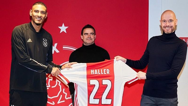 Haller joins Ajax