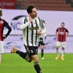Serie A: Juventus beat AC Milan 3-1 thanks to a Federico Chiesa brace