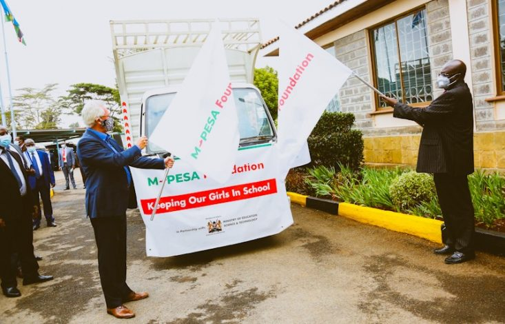 M-PESA Foundation to Donate Sanitary Towels to 180,000 Girls