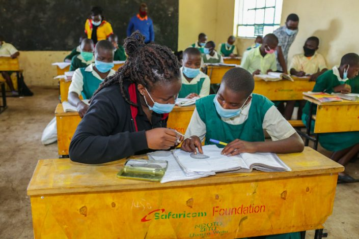 Safaricom Foundation's Ndoto Zetu Supports 2,000 Students in Six Counties