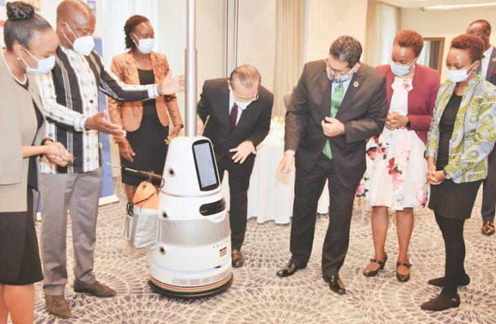Kenya DeploysSmart Anti-epidemicRobot TechnologytoProtect Health Workers