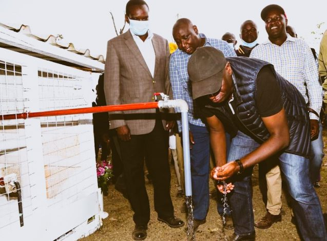 Finlays Kenya Connects 3000 Kipkelion Residents to Clean Water