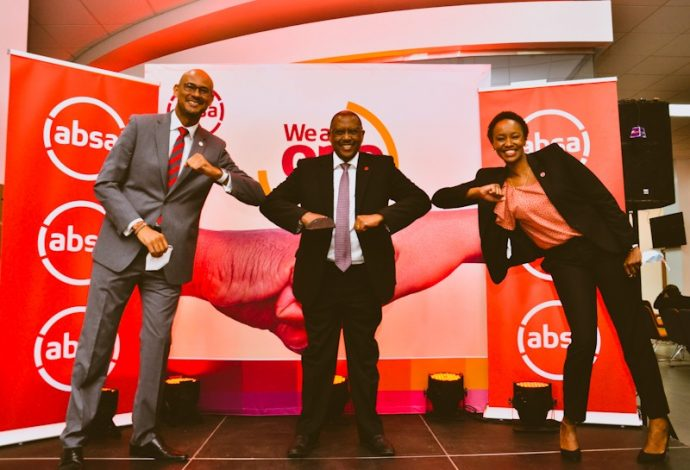 Jeremy Awori, Absa Bank Kenya Managing Director, said that their commitment is to improving customer service, to make it faster and better.