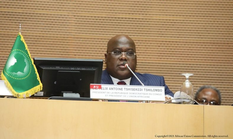 The DRC's President Félix Tshisekedi has now taken over the helm of the African Union to serve as the chairman for one-year.