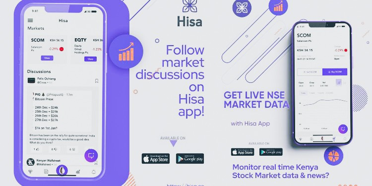 Hisa App - The Smartest Way to Follow the Markets