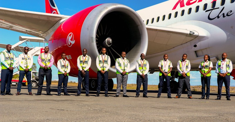 KQ makes history after converting Boeing 787 Dreamliner into cargo plane