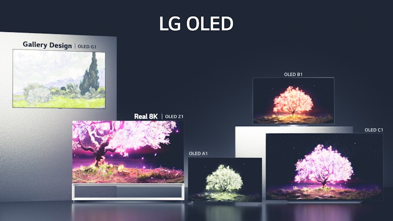 LG begins global roll out of its 2021 TV lineup