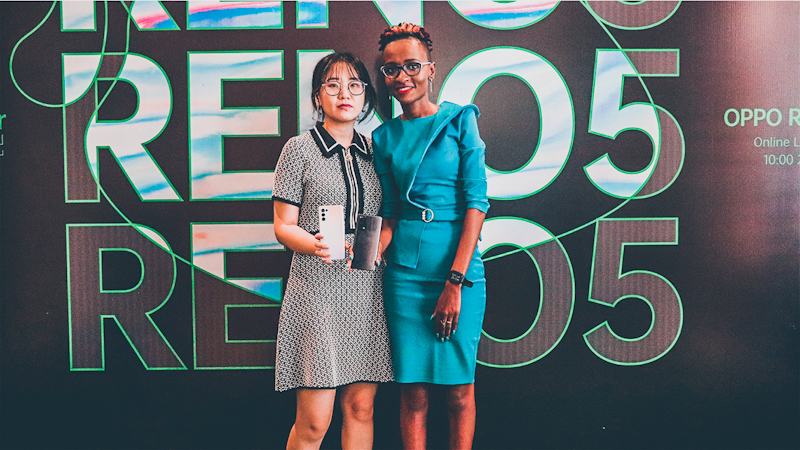 OPPO Reno5 F makes its global debut in Kenya