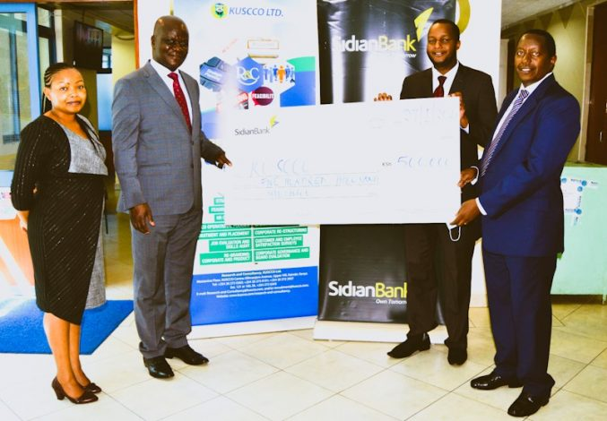 Sidian Bank sponsors 2021 6th annual KUSCCO's leadership convention