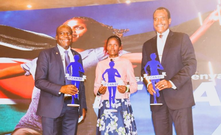 Stanbic Unveil World Record Holder Brigid Kosgei as Brand Ambassador