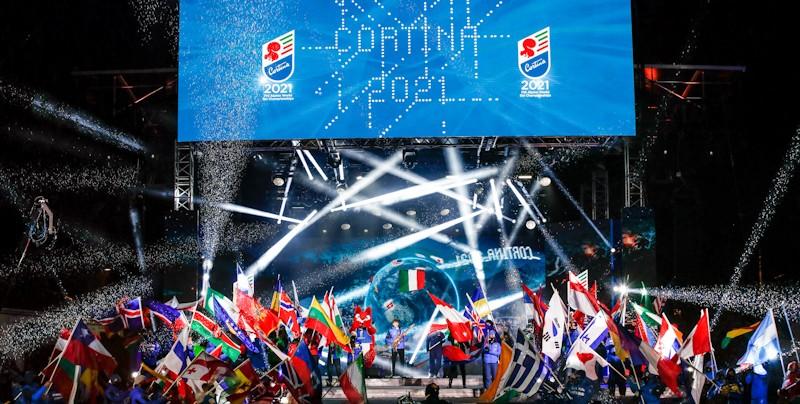 Sabrina Wanjiku Fly's Kenyan Flag in Cortina World Ski Championships