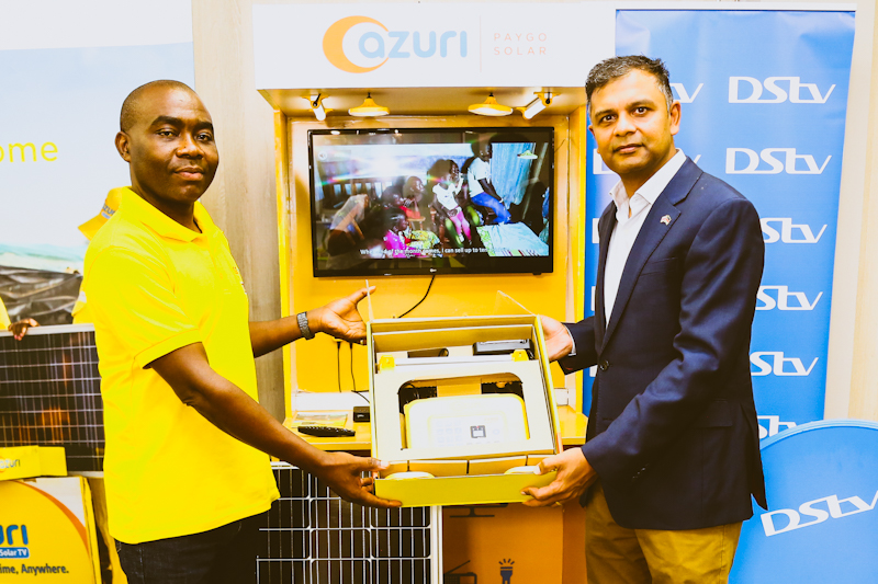 The Azuri TV400 system is available for a down-payment of KES 8,999 and a daily usage fee of KES 115 over 30 months.