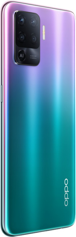 Flowing Light Design on Reno5 F showcases a gentler and warmer look to the phone in contrast to the colder colors and textures of Reno Series.