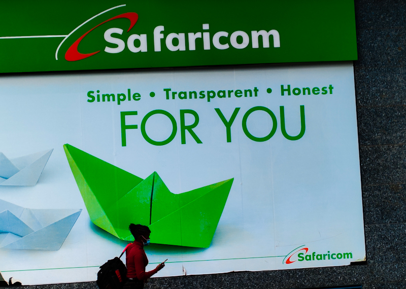 Safaricom's new way of checking how many phone numbers have been registered to you.