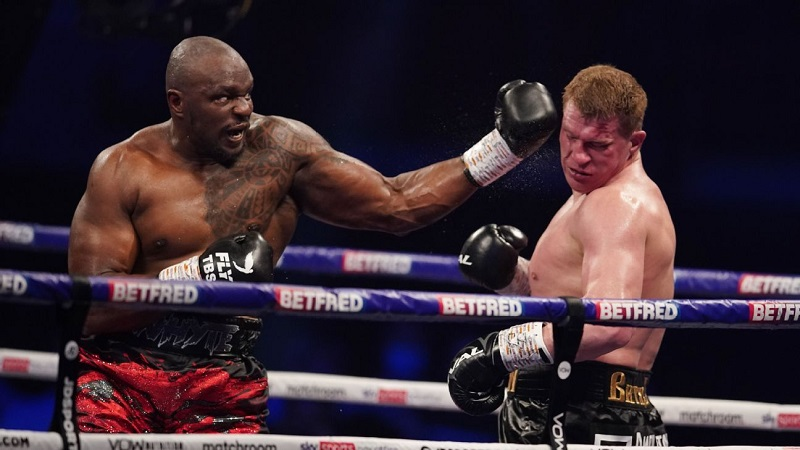 Dillian Whyte knocks out Alexander Povetkin to win WBC Interim Title