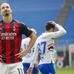 Serie A: AC Milan held to 1-1 draw by 10-man Sampdoria