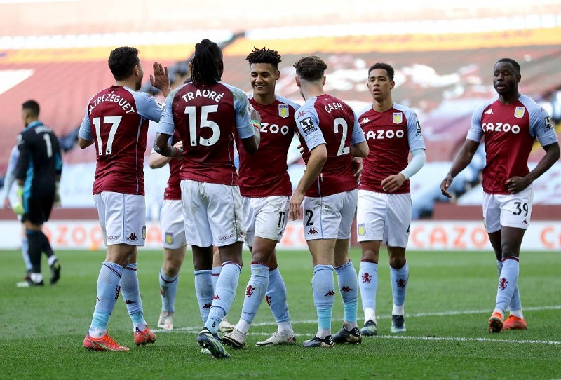 Aston Villa rally from behind to beat Fulham 3-1