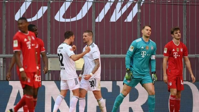 Bayern Munich draw with Union Berlin