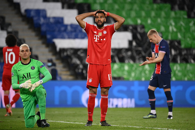 Bayern beaten by PSG