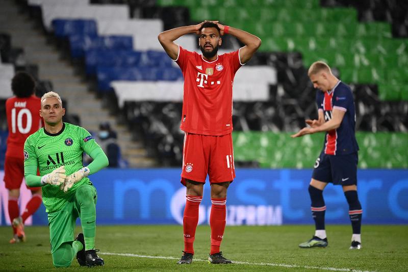 Bayern beaten by PSG
