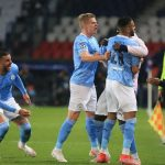 Manchester City beat PSG 2-1 as Idrissa Gueye sees red