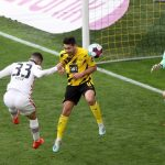 Bundesliga: Dortmund suffer blow to Champions League race with loss to Frankfurt