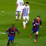 La Liga: Ousmane Dembele's 90th minute volley gives Barcelona vital win over Valladolid