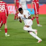 Champions League: Vinicius double puts Real Madrid on top against Liverpool