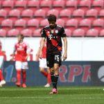 Bundesliga: Bayern Munich suffer 2-1 loss to Mainz