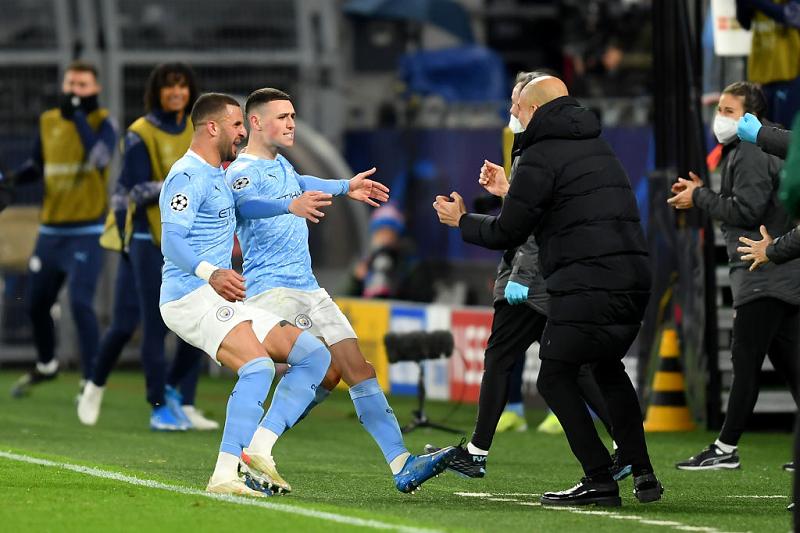 Manchester City beat Dortmund