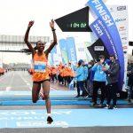 Ruth Chepng'etich sets new world record at Istanbul half-marathon