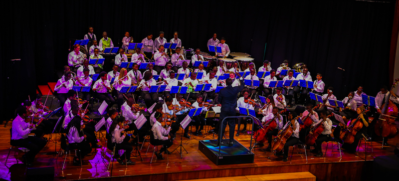 The Art of Music runs the Safaricom Youth Orchestra by providing the administrative framework for the orchestra from running yearly auditions, arranging weekly rehearsals, hiring teaching and support staff and instrument care.