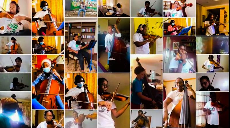 Young Stars Shine at 7th Safaricom Youth Orchestra Graduation